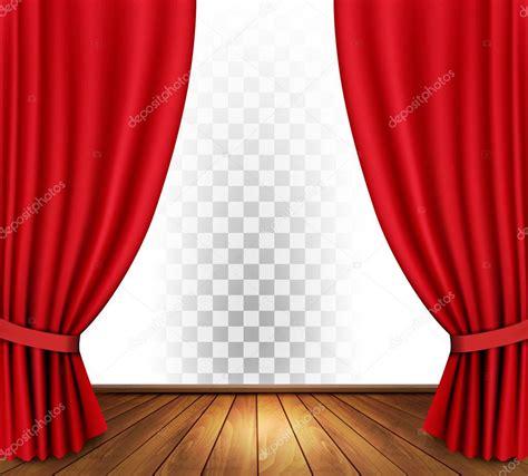 cortinas teatro cortinas de teatro con un fondo transparente vector de