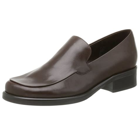 franco sarto loafers franco sarto womens bocca loafer in brown cafe calf lyst