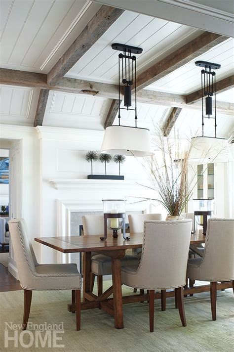 Gray Dining Room With Tray Ceiling The World S Catalog Of Ideas