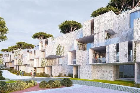 green housing design spectacular green roofed modular tangier bay housing