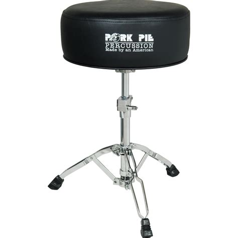 Pork Pie Drum Stool pork pie gel drum throne musician s friend