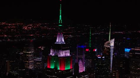 empire state building lights sync to mariah carey s all i