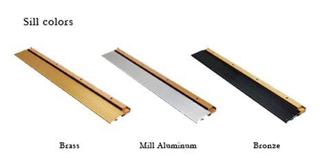 Pin Door Sill Detail Www Sikesdesign Com Exterior Wood Exterior Door Sills
