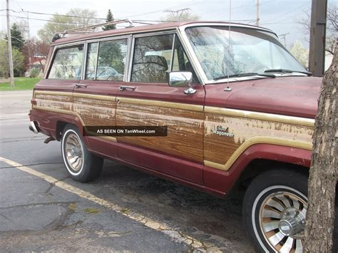 1986 Jeep Grand Wagoneer 1986 Jeep Grand Wagoneer Base Sport Utility 4 Door 5 9l