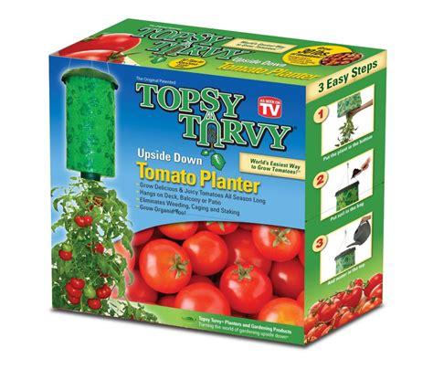Diskon Veggie Grower As Seen On Tv Vegetable Planter topsy turvy topsy turvy tomato planter the home depot canada