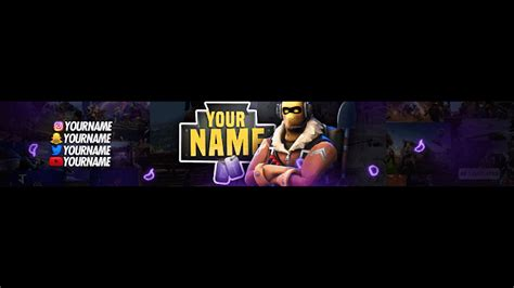 template banner fortnite top 5 fortnite banner template ae templates fortnite