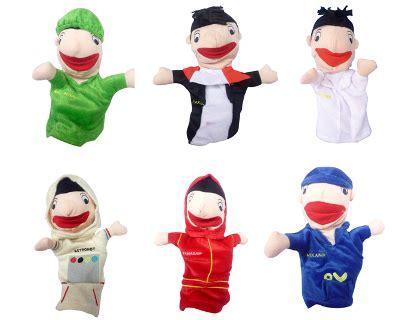 Mainan Tiupan Bola 16 Isi Boneka Tiup jual boneka tangan kain harga murah jakarta oleh toko