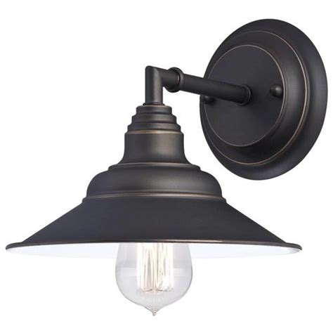 Menards Wall Sconces by Westinghouse Deansen Rubbed Bronze 1 Light Wall Light