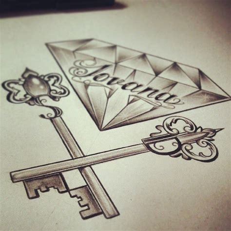 diamond tattoo and custom art c x i x d diamond by edwardmiller on deviantart