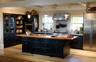 Kitchens With Black Cabinets Pictures The Best Benefit Choosing Black Kitchen Cabinets Modern Kitchens