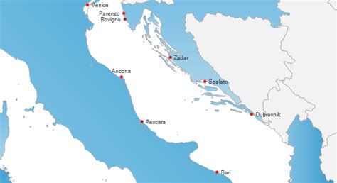 ferry venice to croatia italy to croatia ferries ferry companies and routes