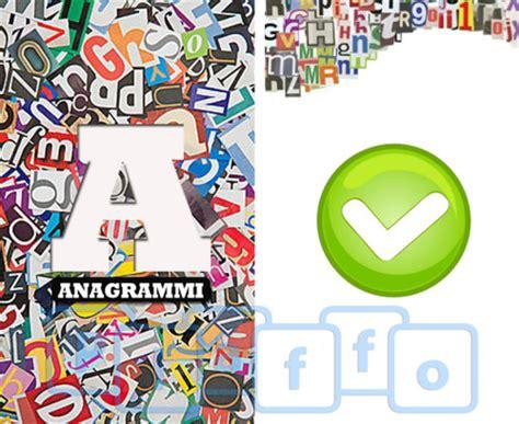 anagrammi lettere anagrammi risolvi i diversi anagrammi proposti da questo