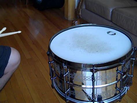 como hacer un tambor nueva tarola y como hacer el redoble de tambor drum roll