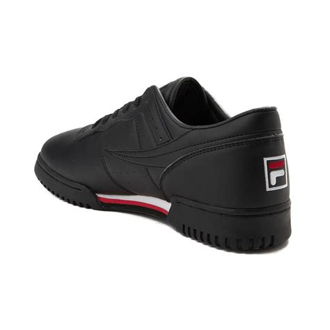 black athletic shoes mens fila original fitness athletic shoe black 452003