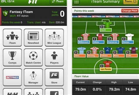 epl fix fantasy football premier league apps fix for ipad