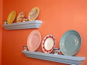 shelves for dishes dish display shelves hgtv