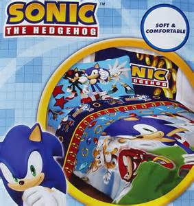 sonic the hedgehog twin sheet set sonic the hedgehog sega speed comforter sheets 4pc bedding set new ebay