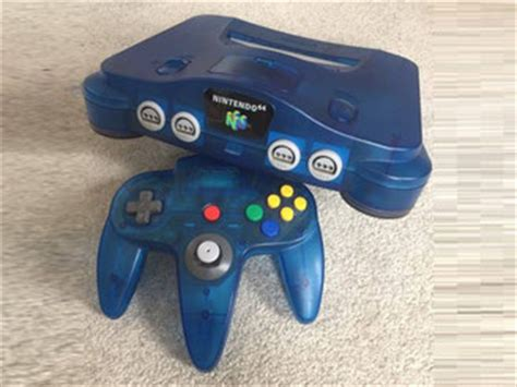 n64 console colors nintendo 64 console variations the database for all