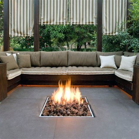 fireplace seating ideas top 60 best pit ideas heated backyard retreat designs