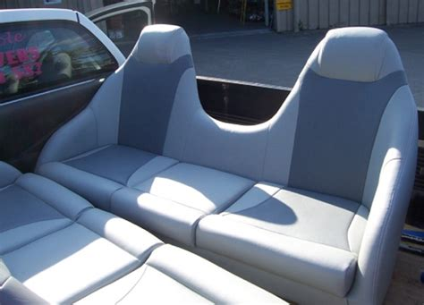 jet ski seat upholstery marine upholstery gold coast covers