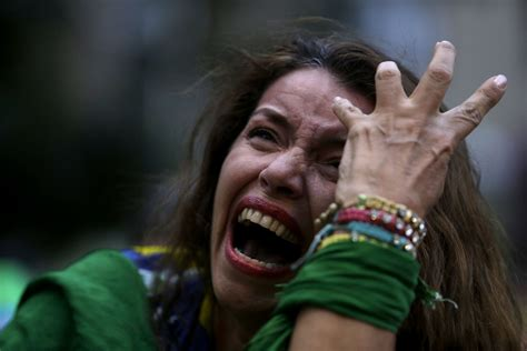 Is Devistated by So Much Brazil Fans Weep After World Cup Thrashing