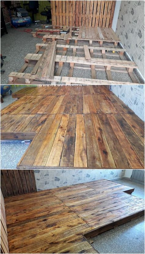 Pallet Floor L by 45 Creative Ideas And Ways To Reuse Wood Pallets