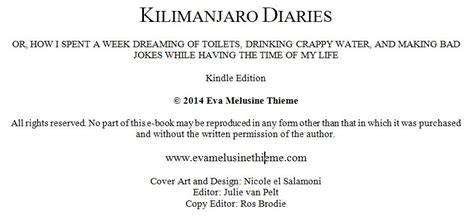book layout front matter self publishing rhymes with melusine