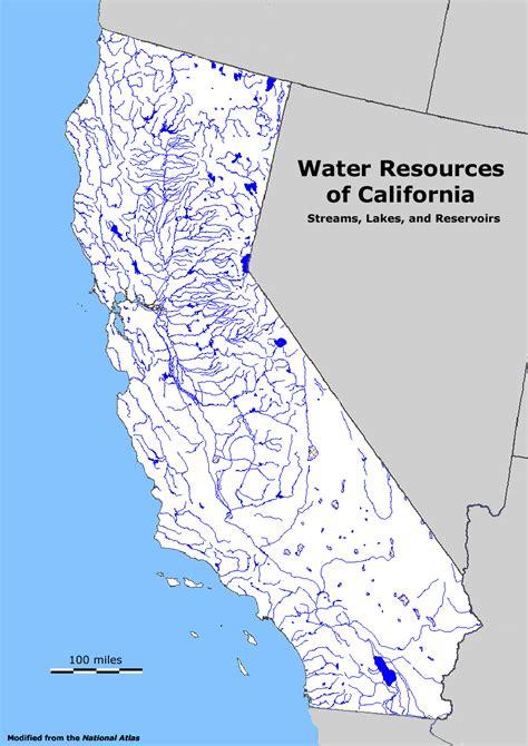 california map resources california water resources map california map
