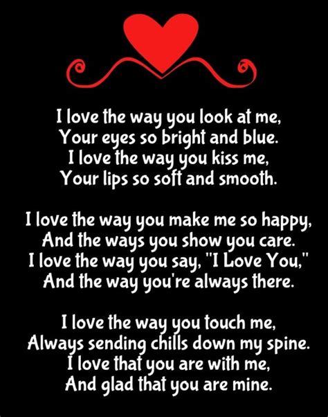 poems to say i love you im 225 genes de amor con movimiento why i love you poems poem pinterest for her poem