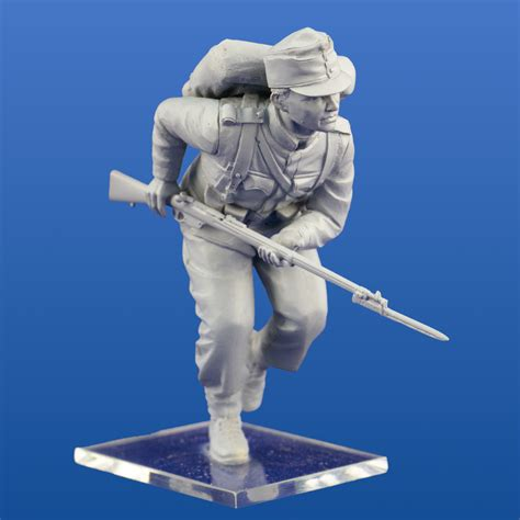 austro hungarian infantry 1914 4 figures 187 icm holding