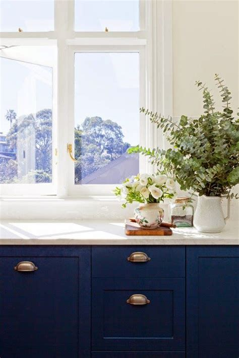 Navy Blue Kitchen Cabinets by Navy Blue Kitchen Cabinets Kitchen Dining