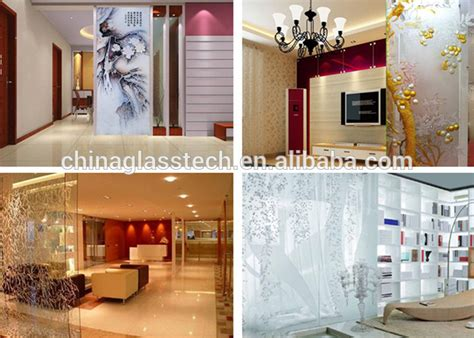 glass wall design for living room novel design customized decorative tempered art glass