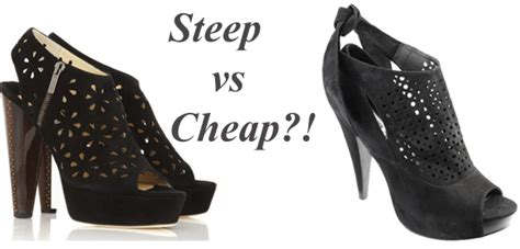 Steep Vs Cheap Snakeskin Sandals by My Fashion