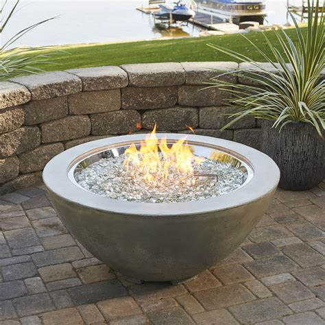 Outdoor Gas Pit Bowls Cove 42 In Diameter Gas Bowl Cv 30