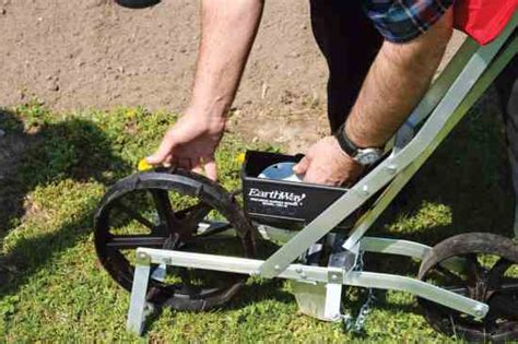 walk seed planter choose the right garden seed planter sustainable farming earth news