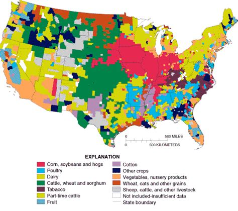 united states agriculture map classification and mapping of agricultural land for