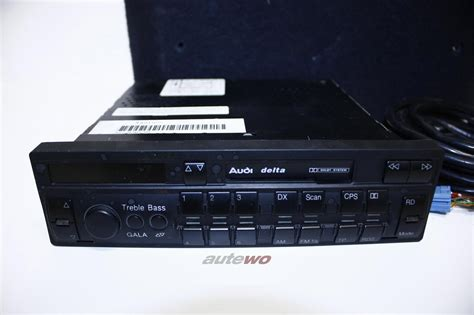 Audi Original Radio by 8a0057192 8d9035111 Audi 80 B4 Coupe Cabrio Typ 89