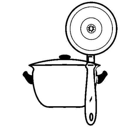 dessin casserole cuisine coloriage casserole de cuisine dessin gratuit 224 imprimer