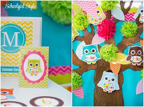 owl theme owl bird classroom theme schoolgirlstyle