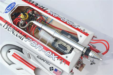 rc gas boat pipes 47 quot sharp arrow rc gas deep vee racing boat rtr 30cc