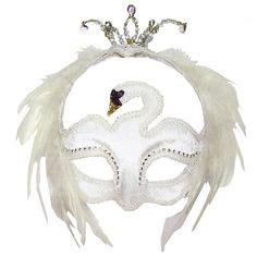 swan mask template stage costumes odette ballet swan lake headpiece