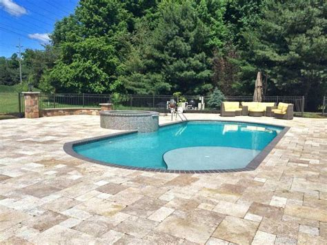 Inground Pool Designs For Small Backyards Backyard Inground Pool Design Bullyfreeworld