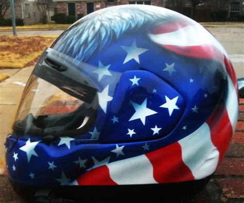 airbrushed motocross helmets eagle airbrushed motorcycle helmet american flag dallas