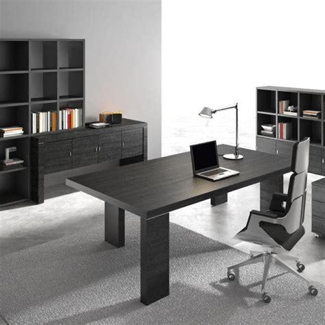 Black Modern Desk Modern Black Wood Executive Desk Ambience Dor 233