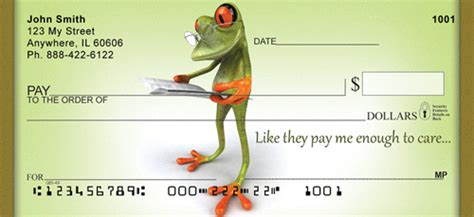 Background Check Office Frog Checks Frog Personal Check Styles At Personalchecks Co