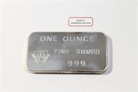1 Troy Ounce Silver Bar - swiss bank corporation 1 troy ounce 999 silver bar