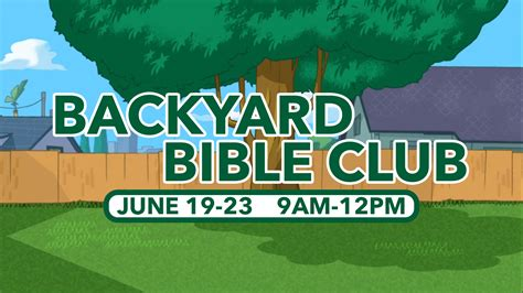 Backyard Bible Club Centerpoint Church Backyard Bible Club