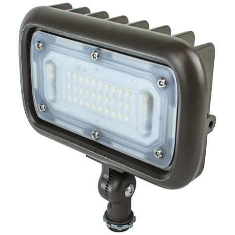 bronze outdoor flood light lithonia lighting outdoor bronze led 4000k landscape flood
