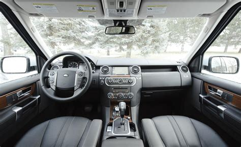 lr4 land rover interior car and driver
