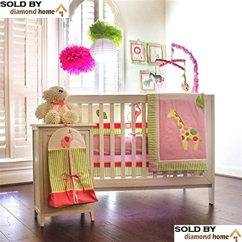 baby animal crib bedding crib bedding set giraffe
